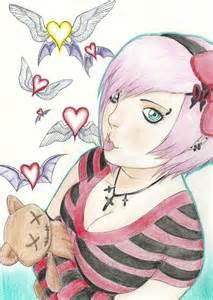 Emo Girl Drawing