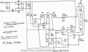 Automotive  Ballast Wiring Diagram Cleaver Convert  To T8