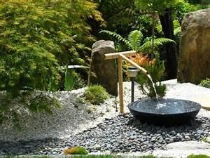 jardin asiatique ambiance zen et deco exotique en 25 idees With fontaine exterieure de jardin moderne 0 amenagement du jardin des idees originales pour l