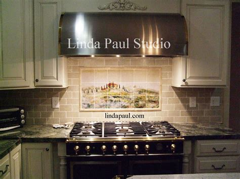 pictures of kitchen tile backsplash tuscan tile murals kitchen backsplashes tuscany tiles