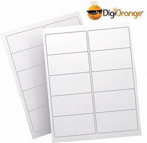 3000 digiorangetm white shipping labels for laser inkjet With digiorange label template