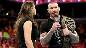 Stephanie McMahon, Batista and Randy Orton argue about the ...