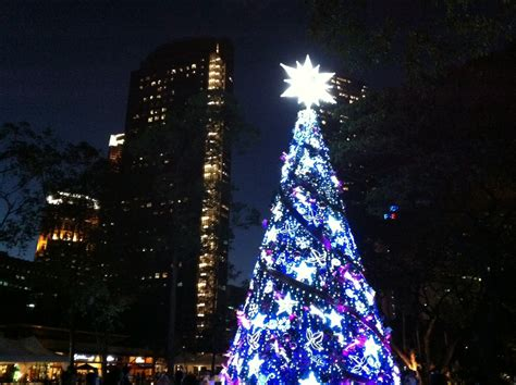 forty weeks holiday christmas lights at ayala triangle