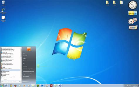 pc de bureau avec windows 7 image de bureau windows 7 image de