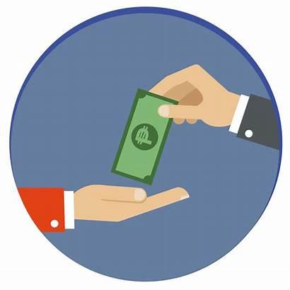 Cash Clipart Payment Money Pay Transparent Paying