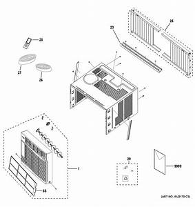 Ge Aew06lyq1 Room Air Conditioner Parts