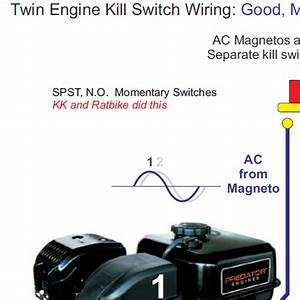 Twin Engine Minibike Kill Switch Wiring