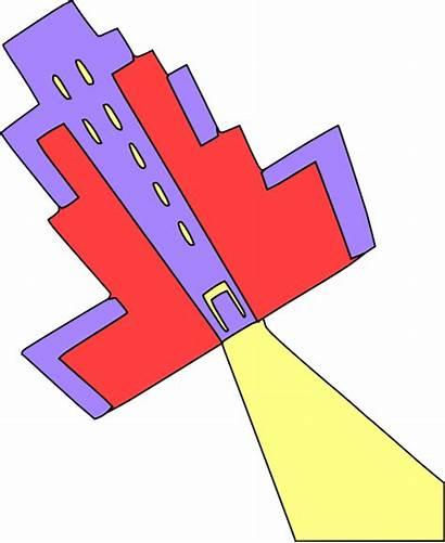 Clip College University Building Clipart Educational Vector