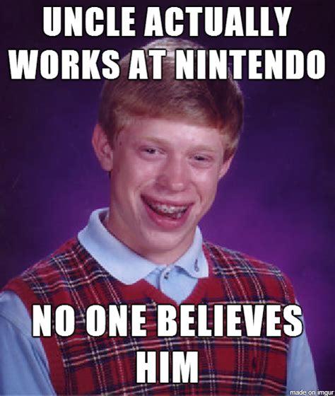 Uncle Meme - my uncle works at nintendo meme guy