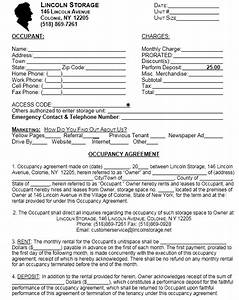 13 Free Sample Occupancy Agreement Templates - Printable ...