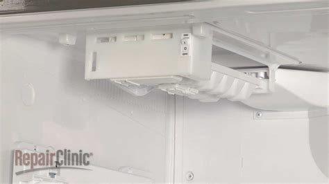 freezer ice maker assembly lg refrigerator repair part aeq youtube