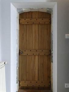 creation d39une porte d39interieur sur mesure en bois de With porte de garage et porte intérieure ancienne