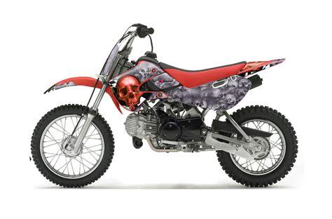 110 Suzuki Dirt Bike by Suzuki Drz 110 Dirt Bike Graphics Checkered Skull