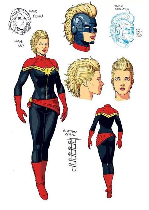 Avengers Endgame Captain Marvel Haircut Explained Den