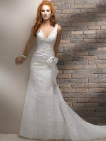 v neck wedding dress 5 styles of classic wedding dresses 1888 for all cars