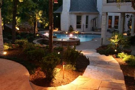 outdoor accent lighting light up your garden lighting well done