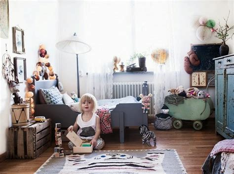 A Bohemian Chic Kids' Room