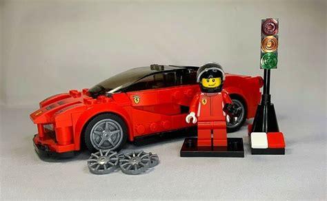 Building instructions for 75890, ferrari f40 competizione, lego® speed champions. Lego Speed Champions - 75899 - Ferrari LaFerrari With Minifigure & Accessories. | Lego speed ...