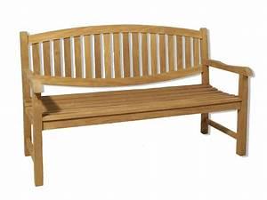 Banc Interieur Ikea : banc de jardin en teck avec dossier ovale 150cm sumbara ~ Teatrodelosmanantiales.com Idées de Décoration