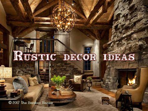 rustic decor ideas  guide  transform  home