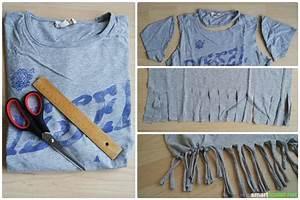 Aus Alten Klamotten Neue Machen Ohne Nähen : in 7 minuten machst du aus alten t shirts coole einkaufsbeutel ~ Lizthompson.info Haus und Dekorationen