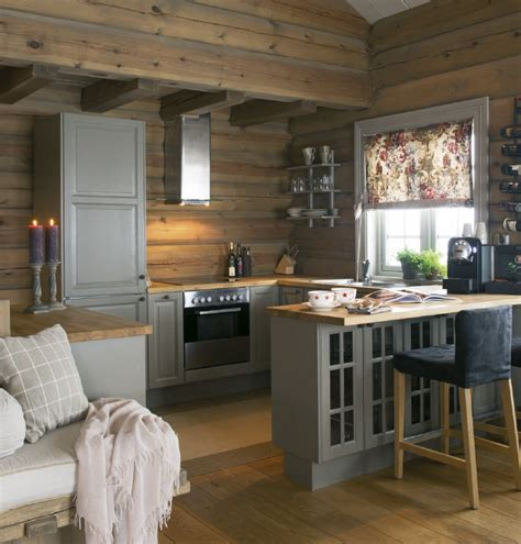 small cottage kitchen ideas 27 small cabin decorating ideas and inspiration kitchen 5373