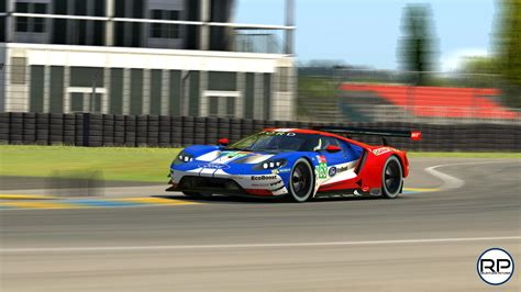 Ford GT#68 Le Mans 2019 Livery by Blake Neck - Trading Paints