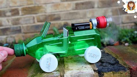 how to make a l cordless como fazer um carrinho de garrafa pet motor eléctrico