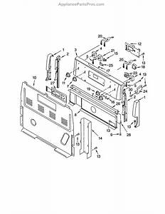 Whirlpool Wp8523665 Oven Control Board
