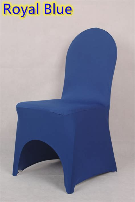 royal blue colour chair cover lycra cover for wedding