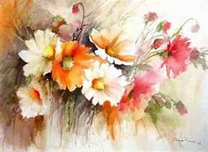 Pinterest Watercolor Flower Paintings