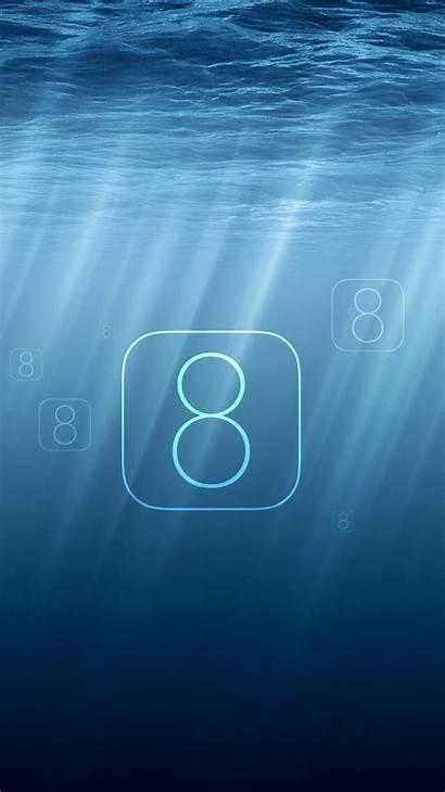 Iphone Ios Wallpapers Ocean Sunlight Wallpapersafari Kumpulan