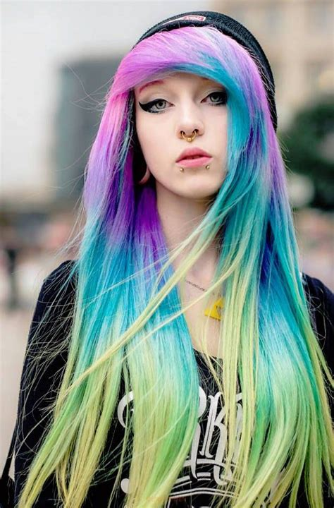 Best 25 Scene Hair Colors Ideas On Pinterest Scene Hair