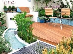 cascade fontaine de jardin et piece deau projets With photo amenagement terrasse exterieur 0 l206le verte realisations