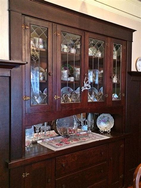 built in china cabinet 17 best images about cabinet our grandmothers craftsman