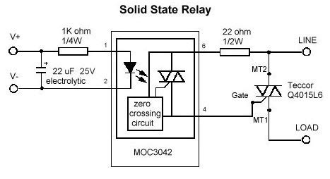 Solid State Relays Three Phase Relay With Zvs