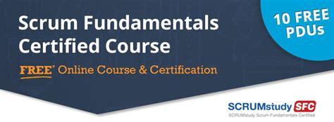 Scrum Fundamentals Certified (SFC) Course