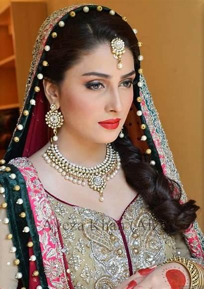 Actress Pakistani Khan Ayeza Bridal Aiza Makeup