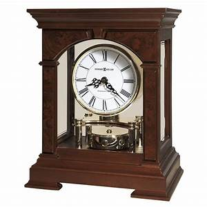 Howard Miller Statesboro Mantel Clock with Revolving