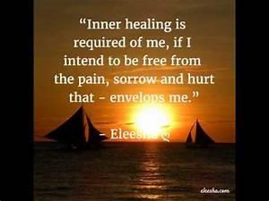 Healing Sadness... Healing Sorrow Quotes