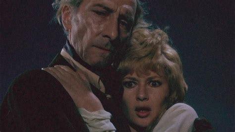 Peter Cushing and Stephanie Beacham in Dracula AD '72 ...