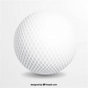 Realistic golf ball Vector | Free Download