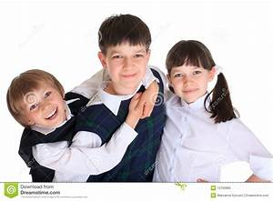 Three young siblings stock photo. Image of children ...