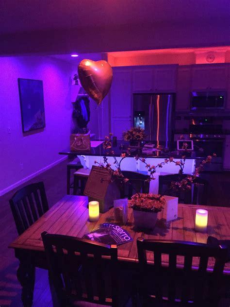 house  valentines night hue lights philips hue