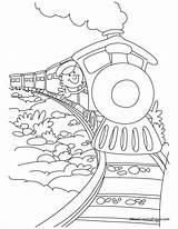 Coloring Train Polar Express Printable Sheets Ausmalbilder Coloringhome Colouring Coloriage Dibujos Tren Colorear Boys Ausmalbild Dibujo Trenino Chuggington Popular Locomotive sketch template