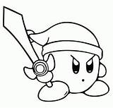 Kirby Ya Coloring Pages Right Meta Knight Dedede King Sword Dark Ability Copy Nightmare Antagonists Matter Main sketch template