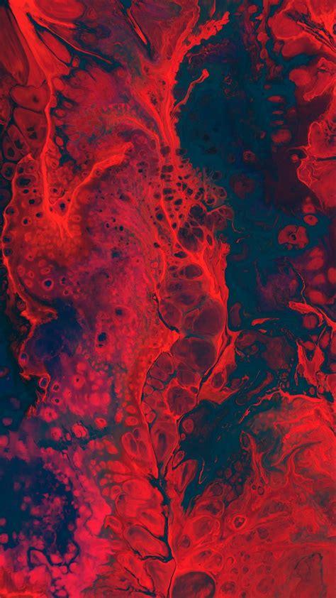 wallpaper 1440x2560 paint spots liquid macro
