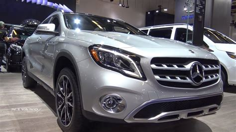 2018 mercedes gla 250 4matic review on the straight pipes. 2018 Mercedes GLA-250 SUV - Exterior And Interior ...