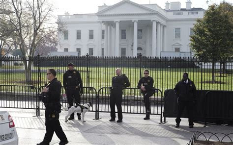 white house security white house fence jumper strikes again at treasury