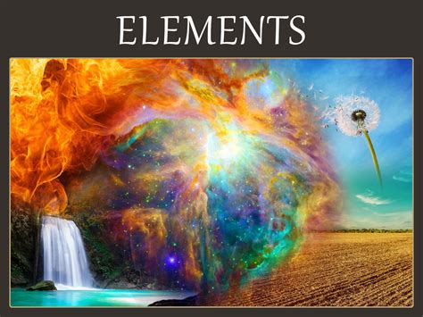 Five (5) Elements Symbolic Meaning